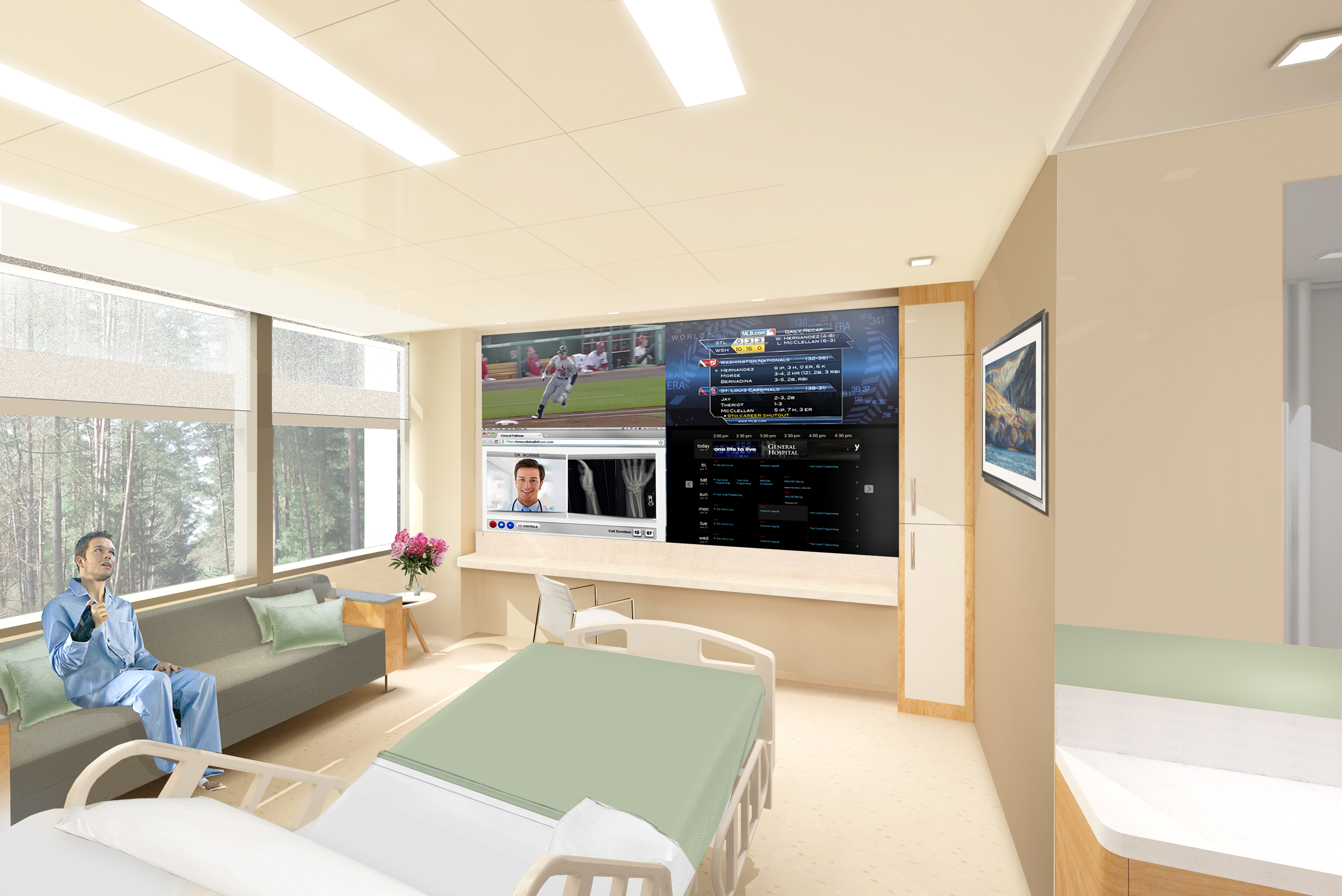 Integrated Technology Approach-Rhine Ordinance Barracks Medical Center Germany
