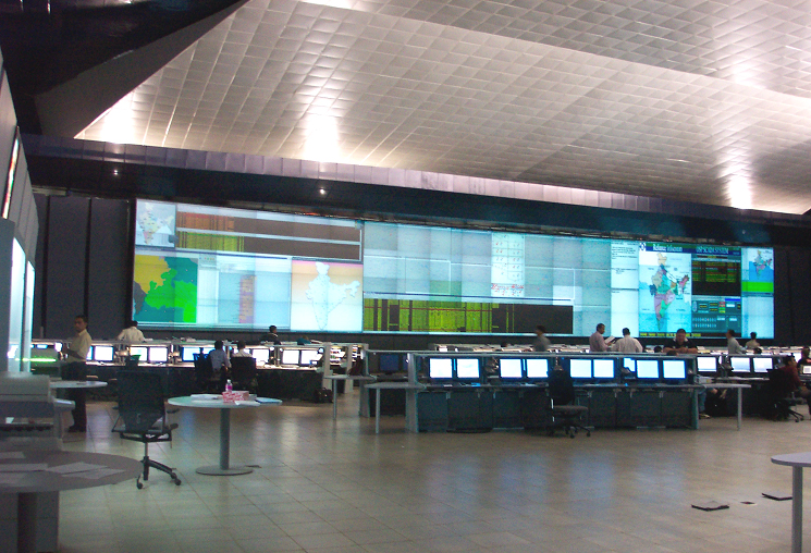 Reliance Communications Network Operations Center Shen