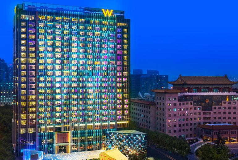 W Hotels W Beijing Chang An Shen Milsom Amp Wilkeshen