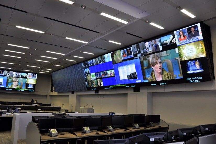 New York Police Department Joint Operations Center Joc