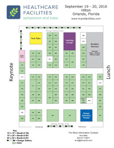 SM&W To Exhibit At 2016 Healthcare Facilities Symposium & Expo -floorplan2016