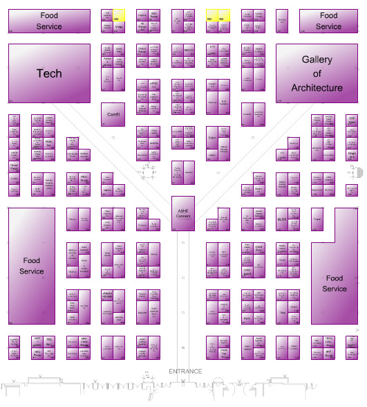 ASHE PDC Floor plan