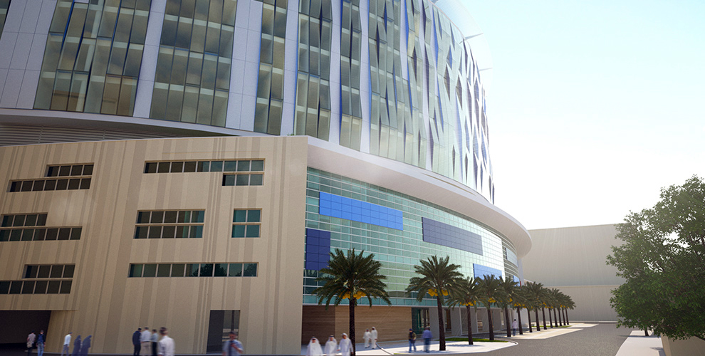 Al Amiri Hospital Rendering Courtesy of KEO Consultants