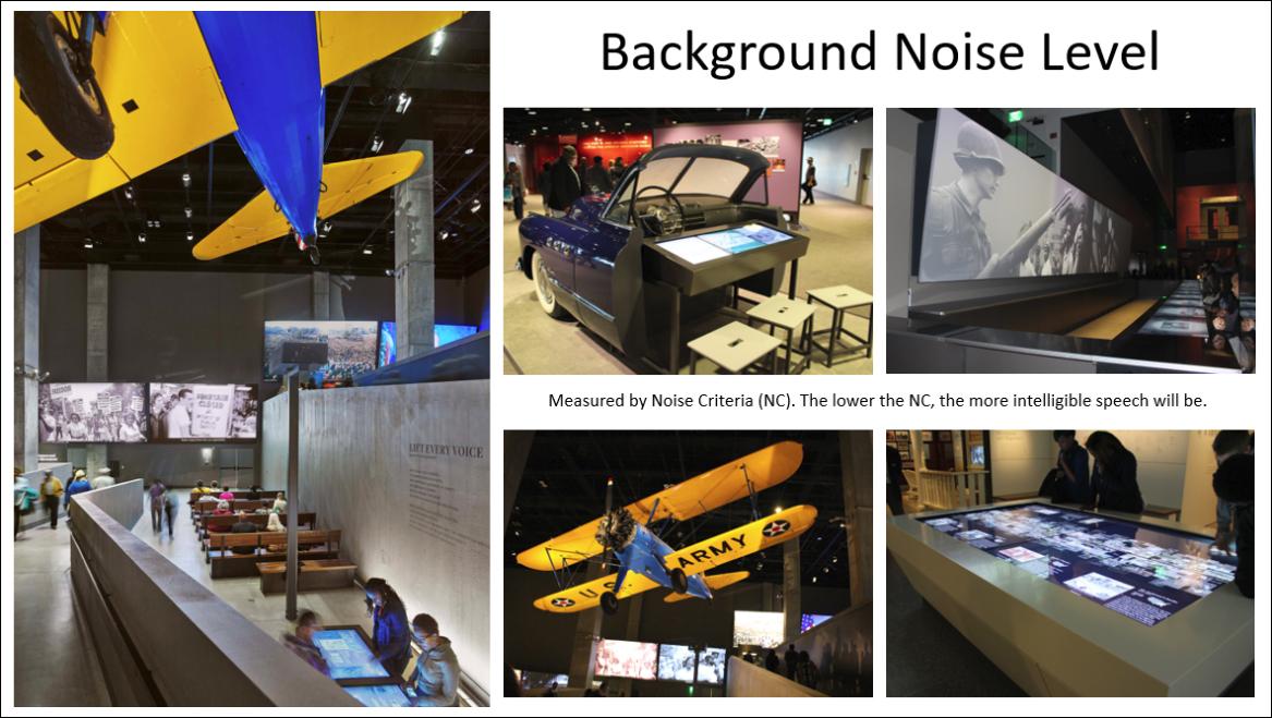 Building Silently Slide 12 background noise
