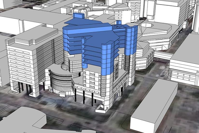 Vertical Expansion Monroe Carell Jr  Children's Hospital at