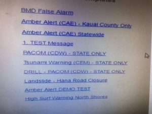 Hawaii Emergency System Image