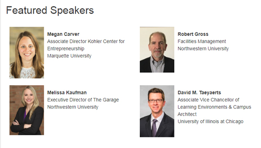 SCUP Featured speakers