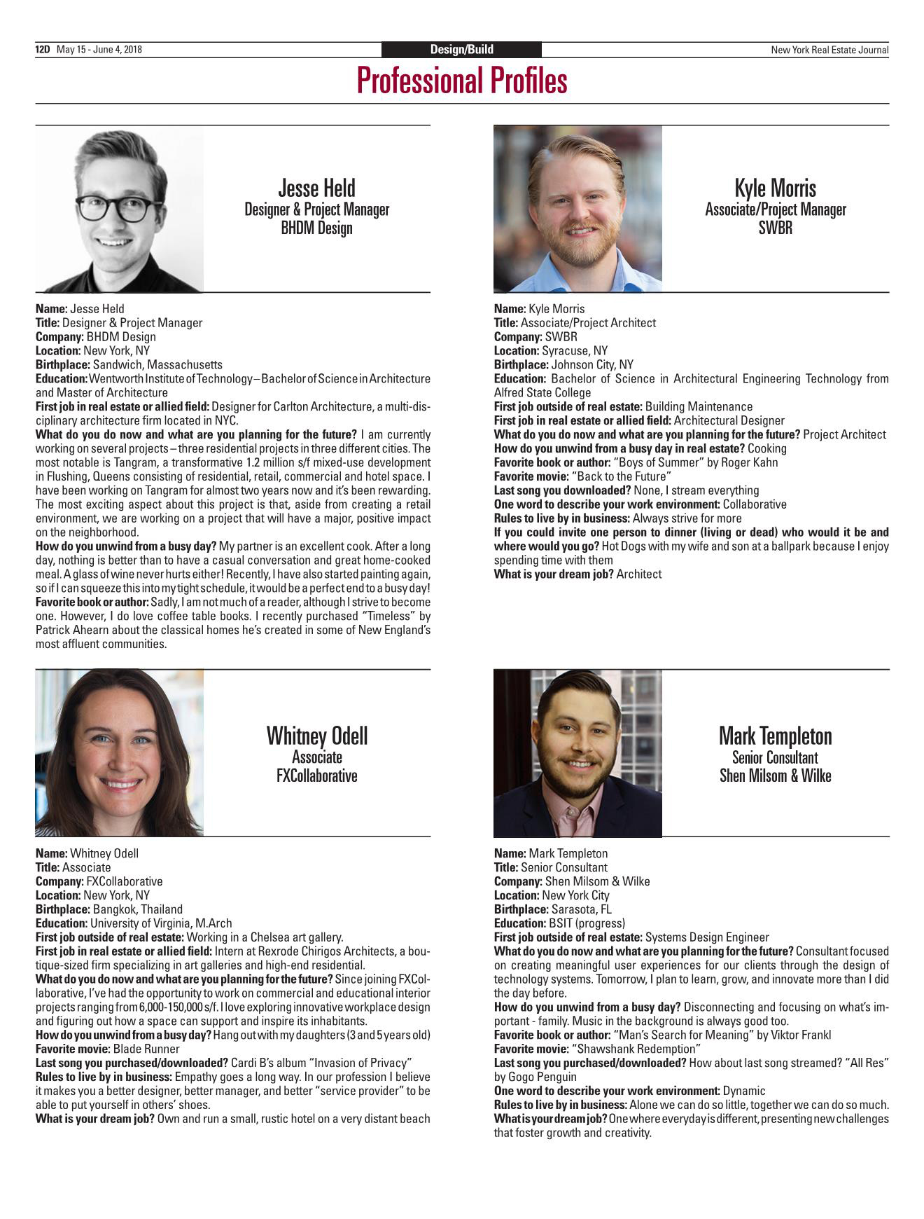 Mark Templeton NYREJ Print profile