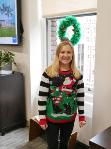 SM&W Ugly Sweater Contest - Brittney Brown