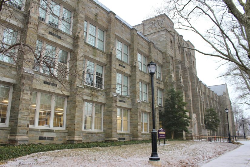 The front of Anderson Hall