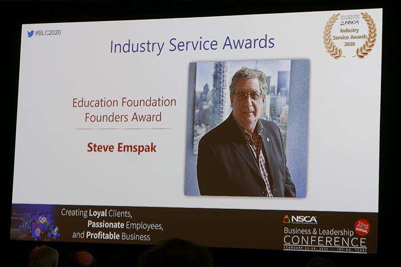 NSCA Founders Award 2020