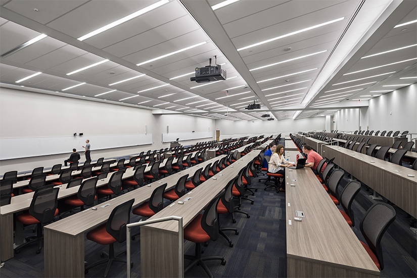 University of Buffalo Lecture Hall Classroom