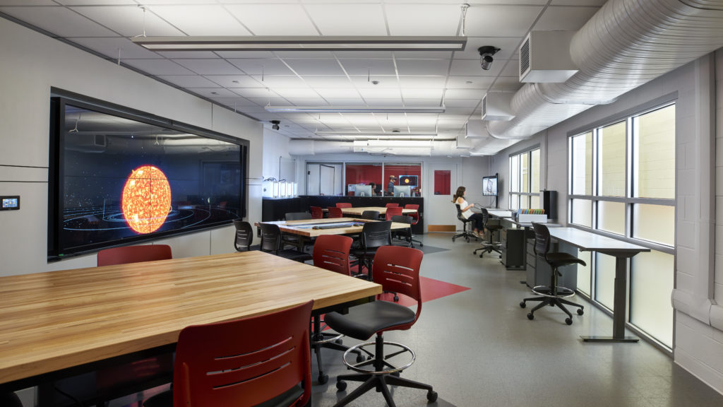 Classroom in Center for Innovation in Teaching and Learning